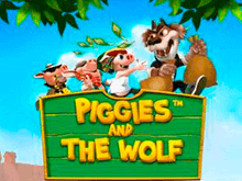 Играть в Piggies And The Wol